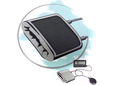 Fabrics for blood pressure monitors